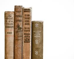 old vine book spines