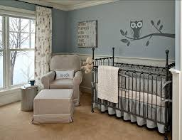 baby room ideas unisex. Sweet Baby Nursery Room With Owl Wall Mural Modern Boy Paint Ideas Nursery. Mural: Unisex I