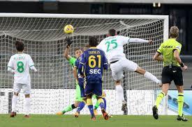 Sassuolo beats Verona to go top ahead of Napoli vs. Milan |