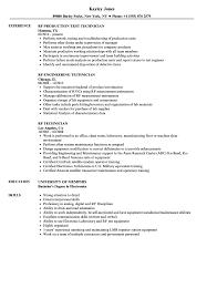 Rf Technician Resume Samples Velvet Jobs