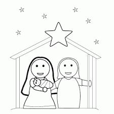 Bijbelse Kerstverhaal Kleurplaten Leuk Voor Kids