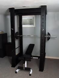 home made squat rack i miss doing squats