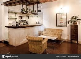 Bar Ecke Im Restaurant Redaktionelles Stockfoto