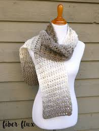 Easy Crochet Scarf Patterns For Beginners Free Custom Fiber Flux Free Crochet PatternTea Leaves Scarf