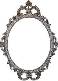 free digital antique photo frames clipart best vintage oval frame png
