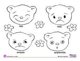 Small Picture Coloring Page Feelings BearsWhat color is a happy bear feliz