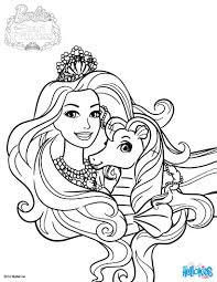 Coloring Pages Barbie Power Princess Coloring Book Pages Printable