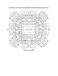 16 Disclosed Mizzou Football Arena Seating Chart
