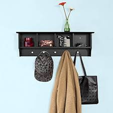 Amazon Coat Rack Wall Enchanting Amazon SoBuy Wall ShelvesWall RackWall CabinetsWallMounted