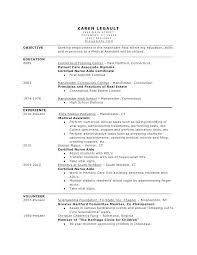 Objective For Medical Assistant Resume Office Assistant