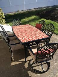inspirational replacement glass for patio table or stylish patio