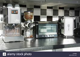 modern kitchen appliances stock photos  modern kitchen appliances