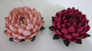 How To Make A Lotus Flower Out Of Paper