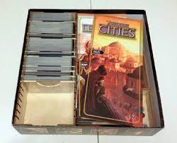 Wooden Box Board Games 100 Wonders Duel Wooden Box Insert Board Game The Broken Token 92