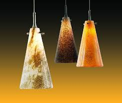 nora lighting art glass pendants now feature 10 w led lamps with dimmable driver