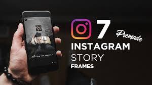 7 instagram story frame templates free