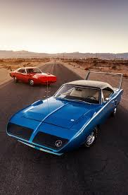 Big Wing Hemi Cars Dodge Charger Daytona Plymouth