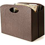 Faux Leather Magazine Holder Amazon The Lucky Clover Trading Roosevelt Faux Leather 74