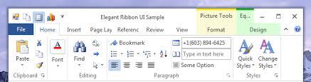 Access 2013 Themes Download Net Elegant Ribbon Themes Visual Styles