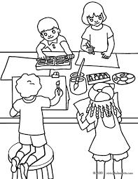 Coloriage Dessiner La Rentr E Des Classes En Maternelle
