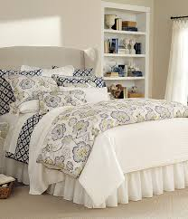 Master Bedroom Bedding Collections Noble Excellence Villa Amara Floral Blue Ikat Bedding Collection