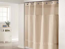 cream shower curtain liner
