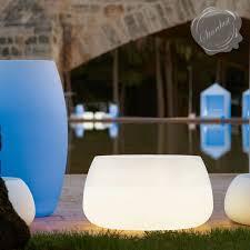 polyethylene furniture. gandia blasco sahara illuminiated outdoor planter with light stardust polyethylene furniture n
