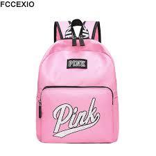 <b>Fccexio</b> 2019 <b>New</b> Backpack Women Leisure Back Pack <b>Pink</b> ...