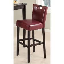 102578 Coaster Furniture Accent <b>Barstool</b> - <b>Wine Red</b>