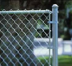 chain link fence post. They Are Easy To Residential Galvanized Chain-Link Fence Chain Link Post E