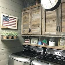 how to build simple cabinet doors beautiful rustic laundry room i like the shelf on top