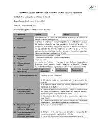 Formato Basico Formato Basico De Identificacion De Hoja De Vida De