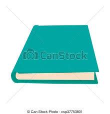 closed book icon cartoon style csp37753801