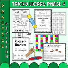 These free worksheets help your kids learn to define sounds from letters to make words. Phase 4 Phonics Worksheets Teaching Resources Tpt