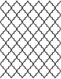 Quatrefoil Pattern Amazing Quatrefoil Pattern Use The Printable Outline For Crafts Creating