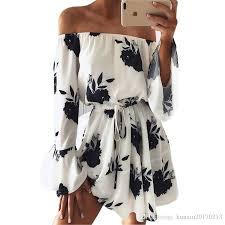 2019 <b>LOSSKY Women Summer 2018</b> Beach Floral Boho Dress ...
