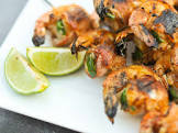 bacon wrapped shrimp with jalapeno