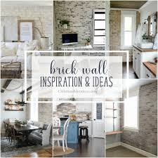 interior brick wall inspiration ideas