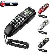 home office corded telephone caller id