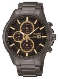 seiko mens sports alarm chronograph watch ssc269p9 seiko ssc269p9