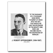 Oppenheimer Quotes Best J Robert Oppenheimer Quotes