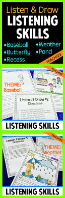 17 best images about a listening skills esl sub follow directions spring great for inside recess listen and follow directions these
