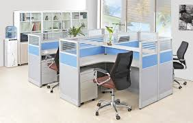 office desk dividers. fashion design office partition glass wall modern desk dividers fancy 4 seater d
