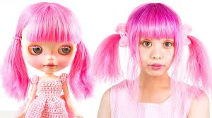 blythe doll makeup tutorial