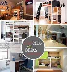 Lovely Loft Beds With Desks Underneath: 30+ Design Ideas With Enigmatic Touch