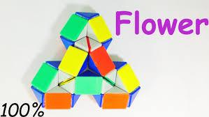 Rubik's Patterns Interesting RUBIK'S SNAKE PATTERNS FLOWER YouTube