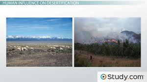 desertification caused by human activity video lesson  desertification caused by human activity video lesson transcript com