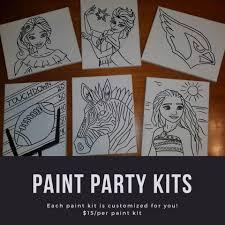 Paint Party Designs Paint Party Kits