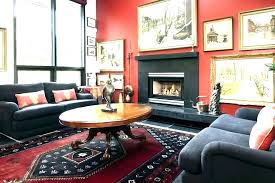 red wall living room decorating ideas interior design with red walls decorating dining room traditional home