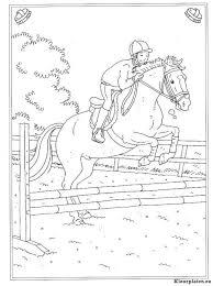 Kleurplaten Paarden Met Kleur Malvorlage Pferd Kleurplatenlcom